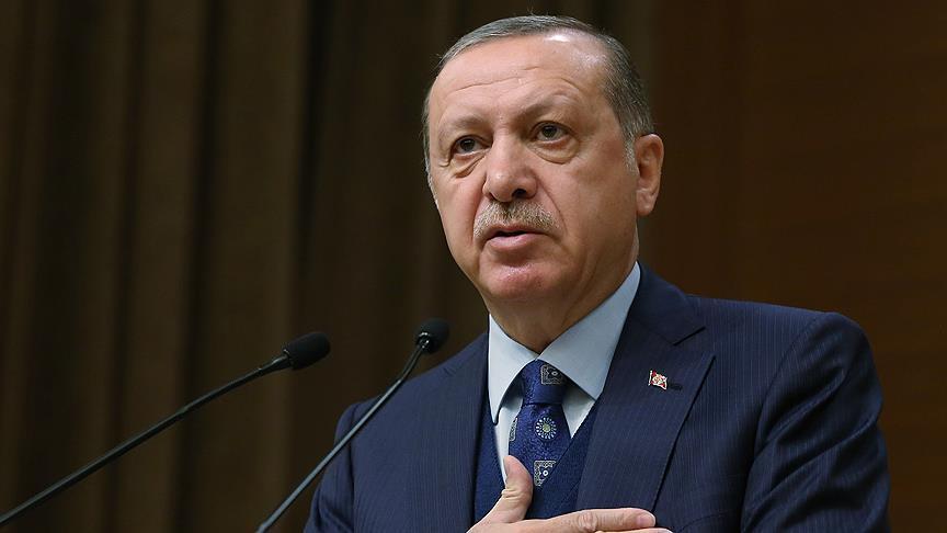 صورة أردوغان يستنكر تغريدة الإمارات المسيئة للعثمانيين
