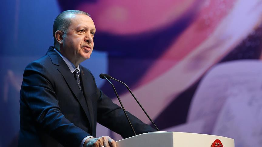 صورة أردوغان: إذا فقدنا القدس لن نستطيع حماية مكة