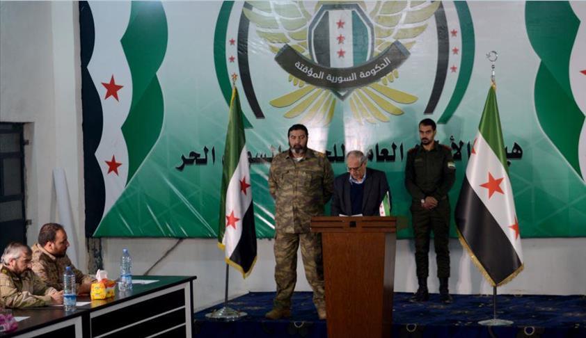 صورة المعارضة تشكل جيش وطني بقوام 22 مقاتل