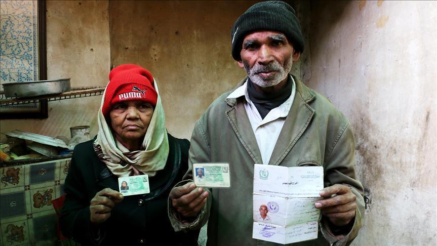 صورة باكستان تصل لمواطنيها المحاصرين بغوطة دمشق