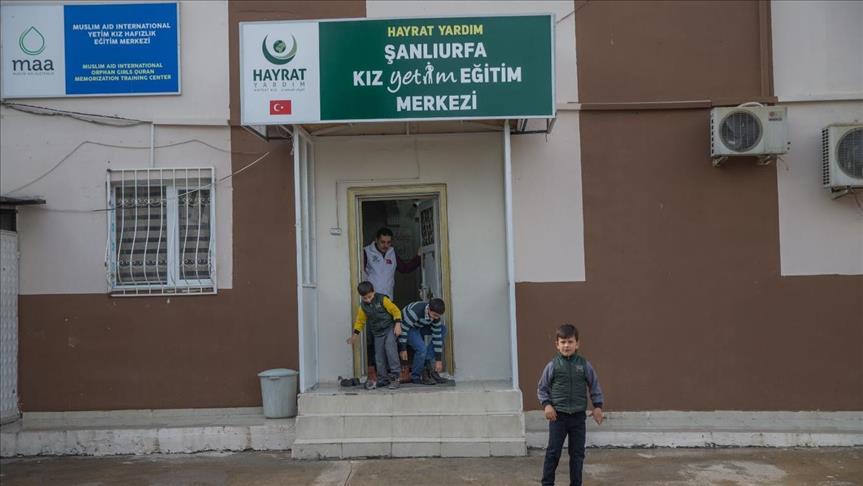 صورة جمعية تركية تكفل 40 يتيما سوريا
