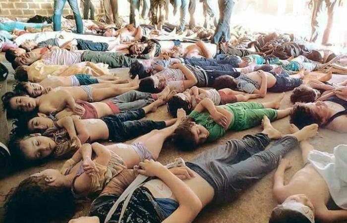 """صورة اختبارات دولية تؤكد: الأسد وراء """"كيماوي الغوطة"""""""