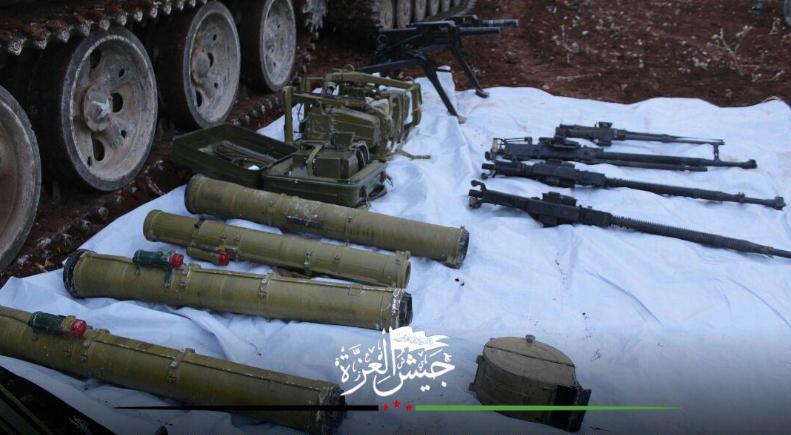 صورة المعارضة تواصل تقدمها في حماة وإدلب