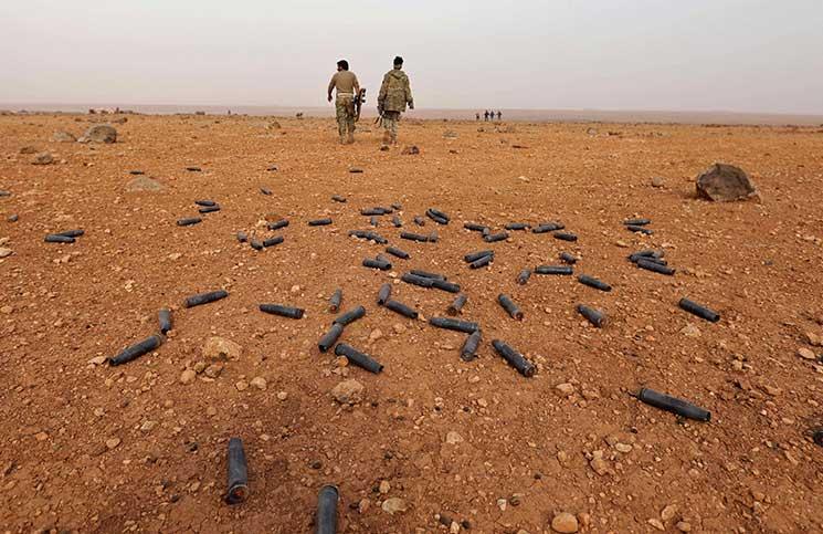 صورة تنظيم الدولة يسيطر على 14 قرب إدلب