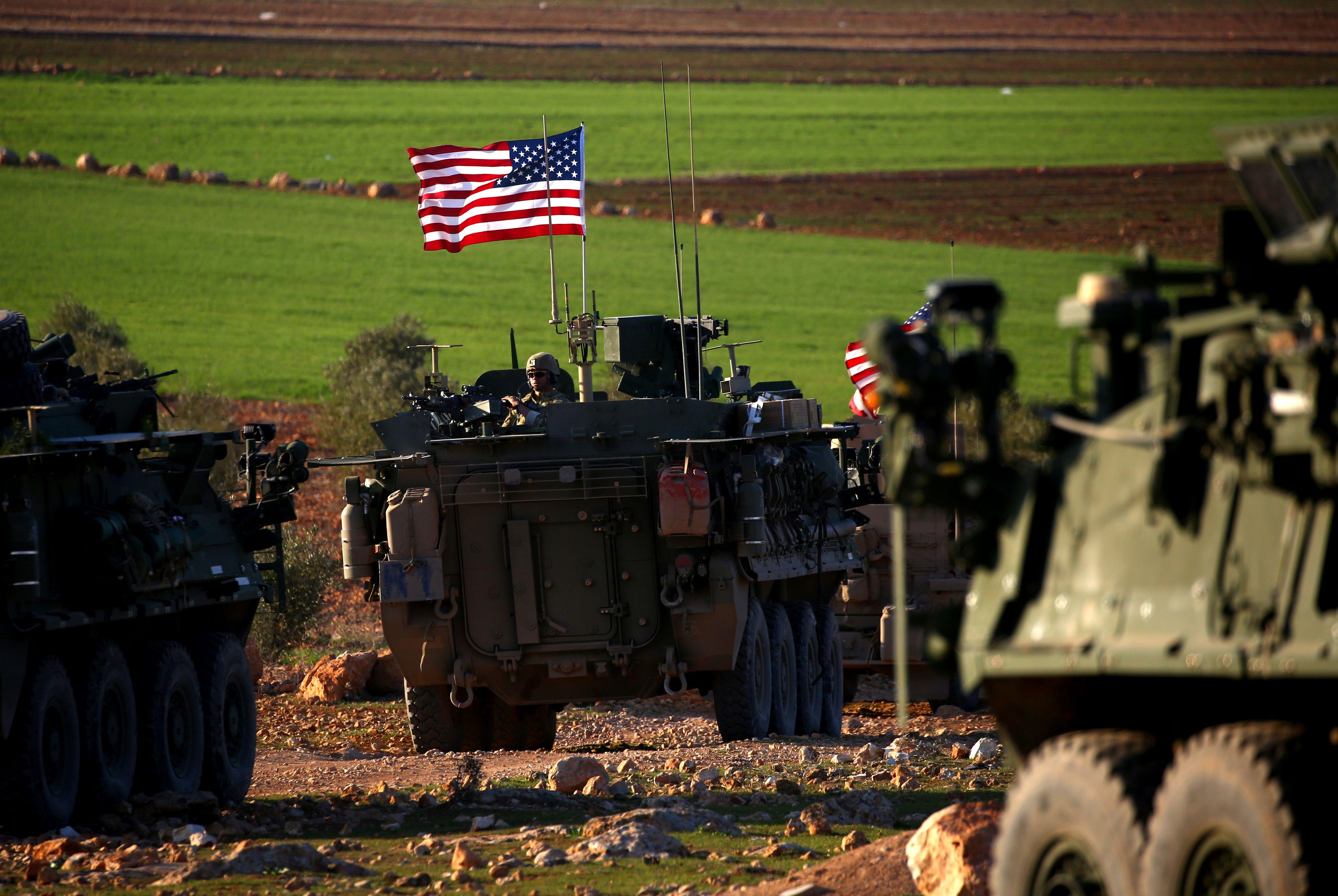 صورة صحيفة: قرار أميركي لحرب أخرى بسوريا