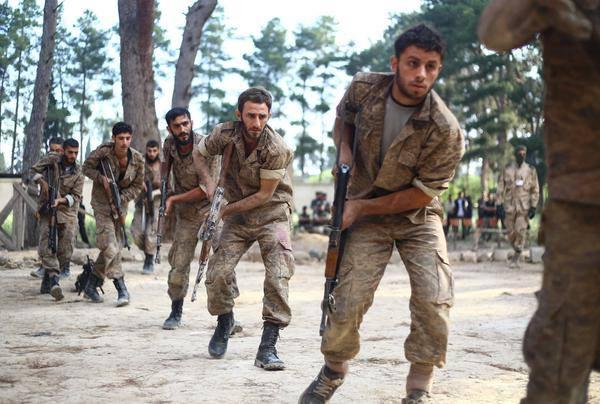 صورة المعارضة تدعو قوات النظام قرب دمشق للإستسلام