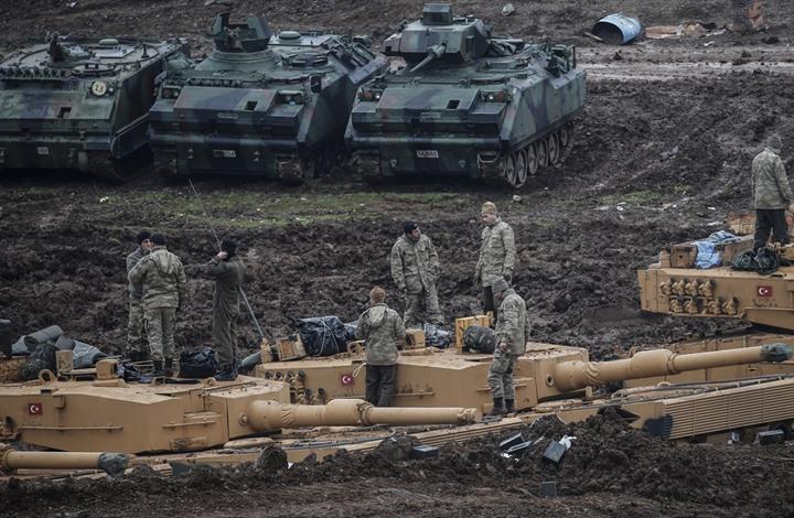 """صورة دبابات """"غصن الزيتون"""" قد تتسبب بأزمة تركية ألمانية"""