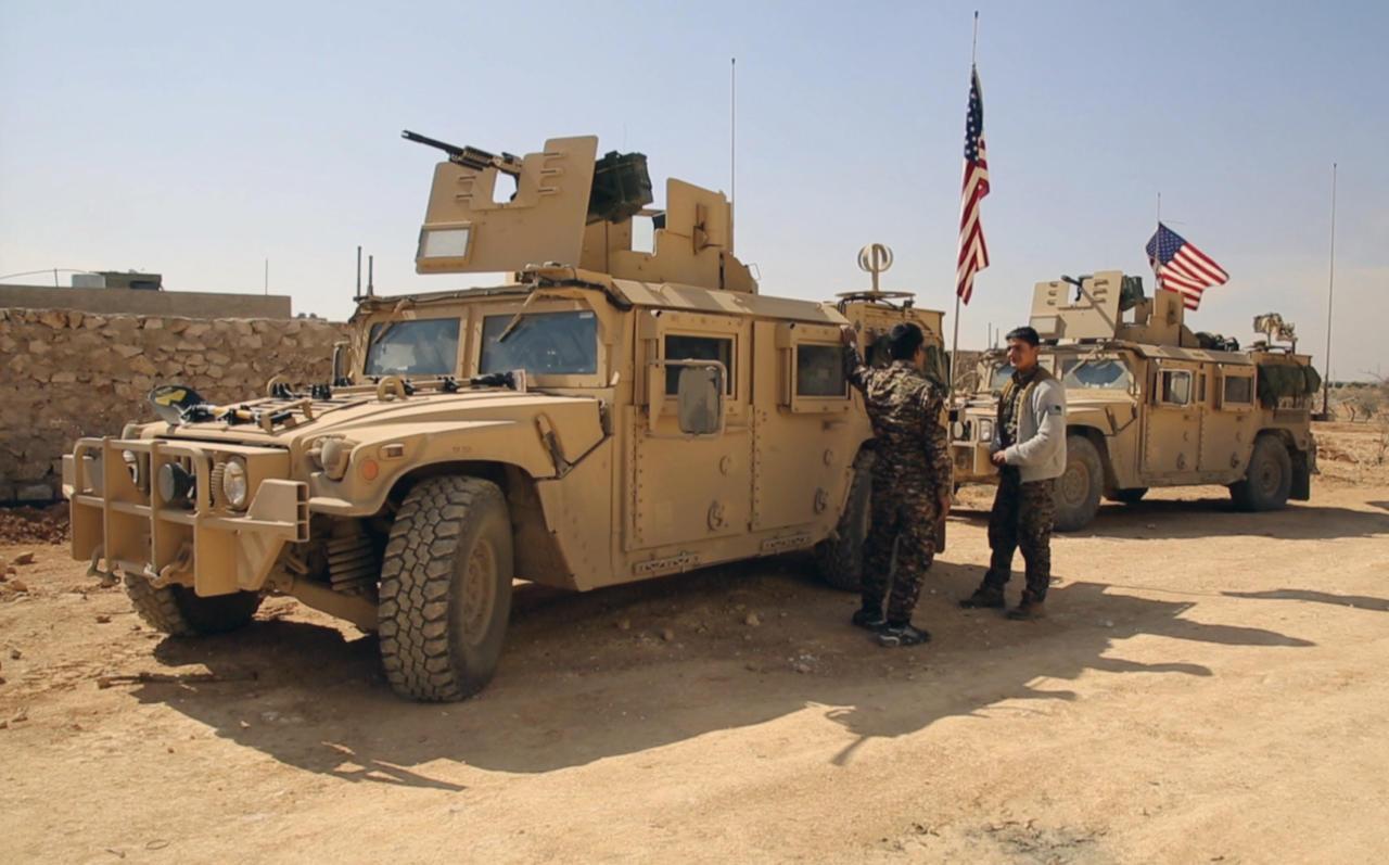 صورة روسيا: القوة الحدودية الأمريكية بسوريا تعارض مصالحنا