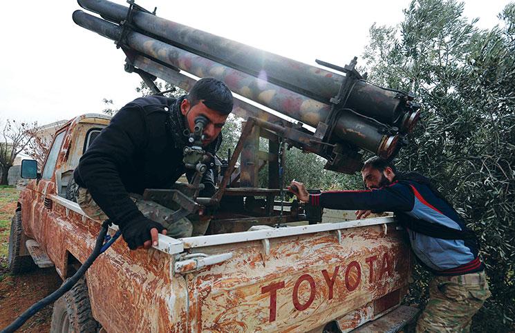 صورة الجيش الحر يأخذ زمام المبادرة من النظام السوري