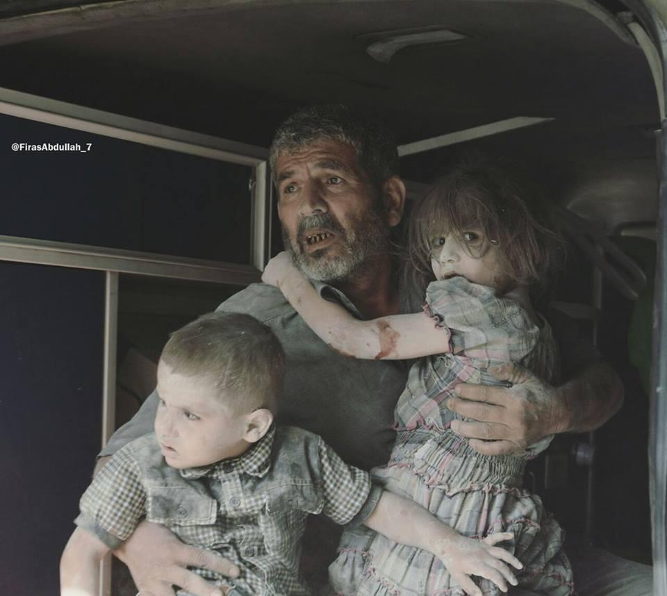 صورة تلغراف: وحشية النظام ضد إدلب تفوق وحشيته بحلب
