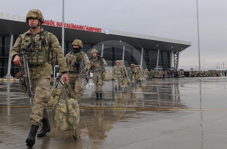 """صورة تركيا تدفع بقواتها الخاصة نحو """"عفرين"""""""