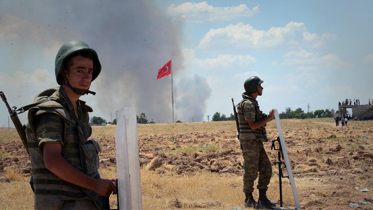 """صورة """"غصن الزيتون"""" مستمرة..والأكراد يعلنون صد الهجمات البرية"""