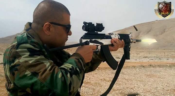 """صورة النظام السوري يعتقل قائد ميليشيا """"درع القلمون"""""""