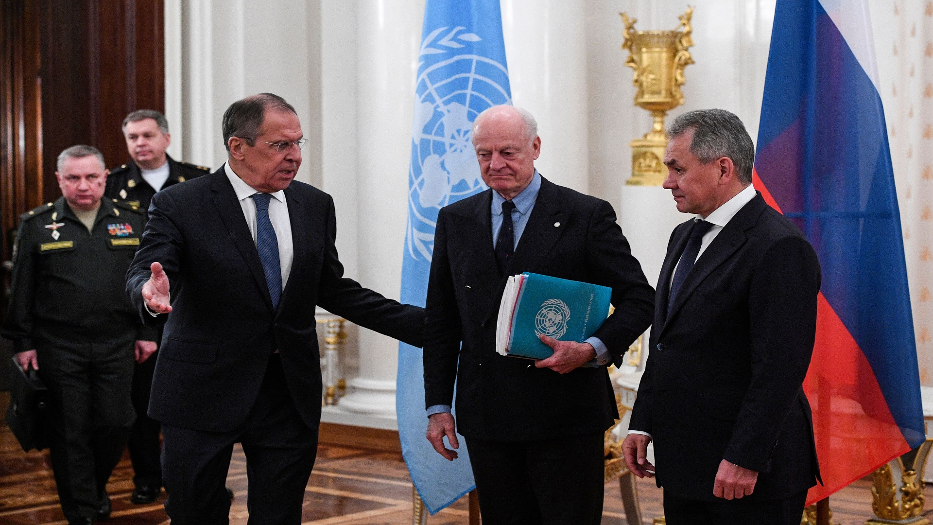 صورة الكرملين يلوح إلى فشل مؤتمر سوتشي