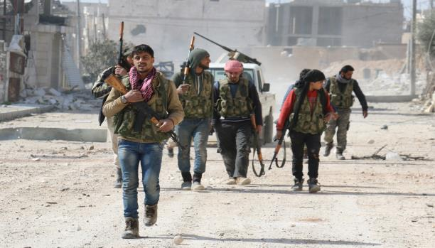 صورة الجيش الوطني..اختبار جديد للمعارضة لمواجهة الأسد