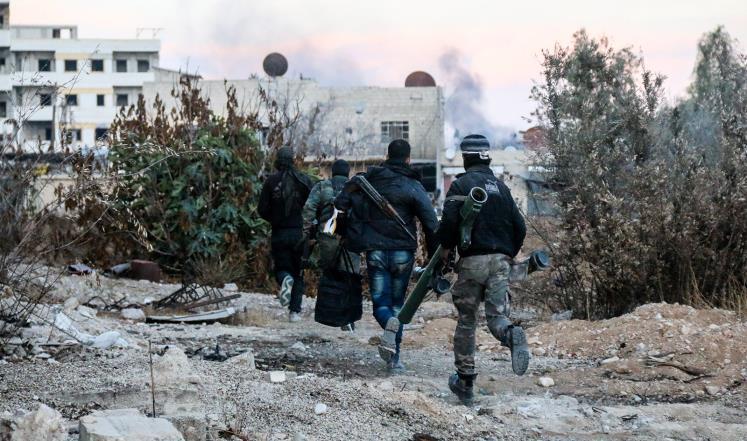 صورة هل تحسم معركة حرستا مصير الغوطة؟