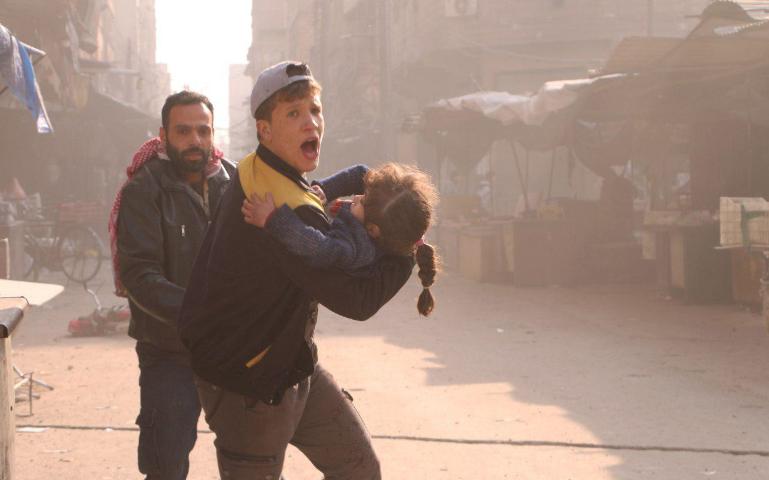 صورة الأمم المتحدة: الأسد قتل 30 طفلا بغوطة دمشق بأسبوعين