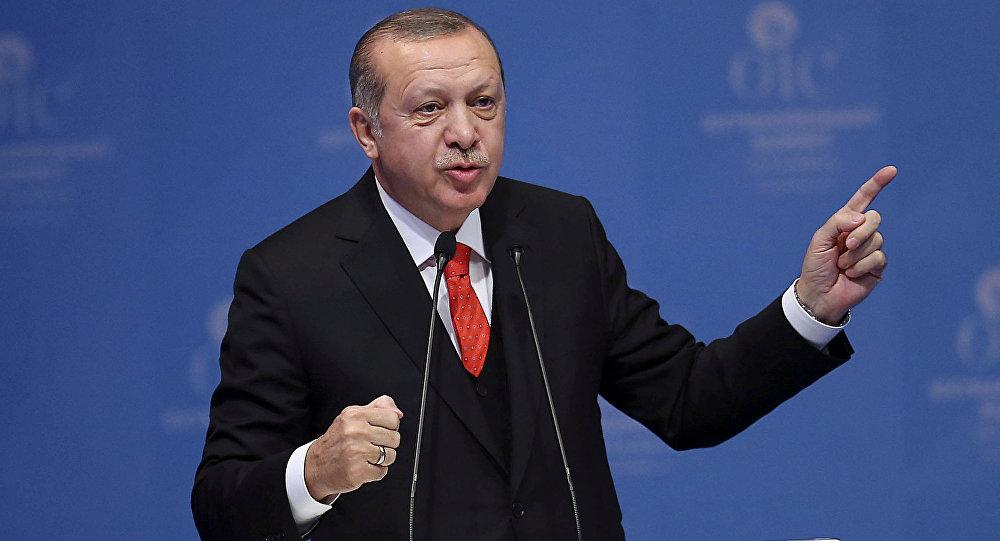 صورة هكذا أحرج أردوغان صحفيا حول سوريا