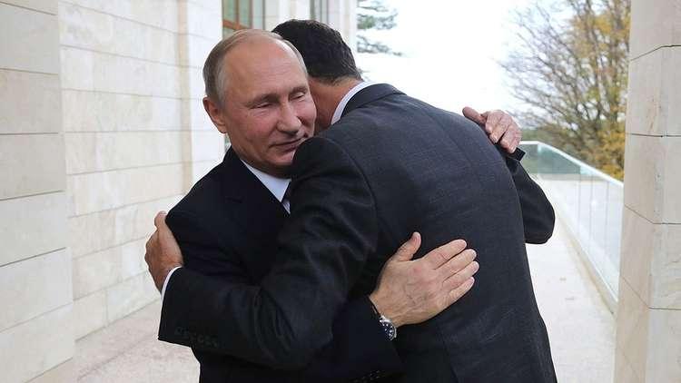 """صورة صحيفة روسية: هدف سوتشي """"سوريا موحدة تحت سلطة الأسد"""""""