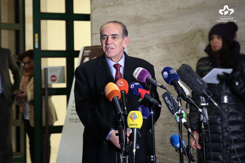 """صورة المعارضة والنظام يوافقان على مباحثات """"جنيف 9"""""""