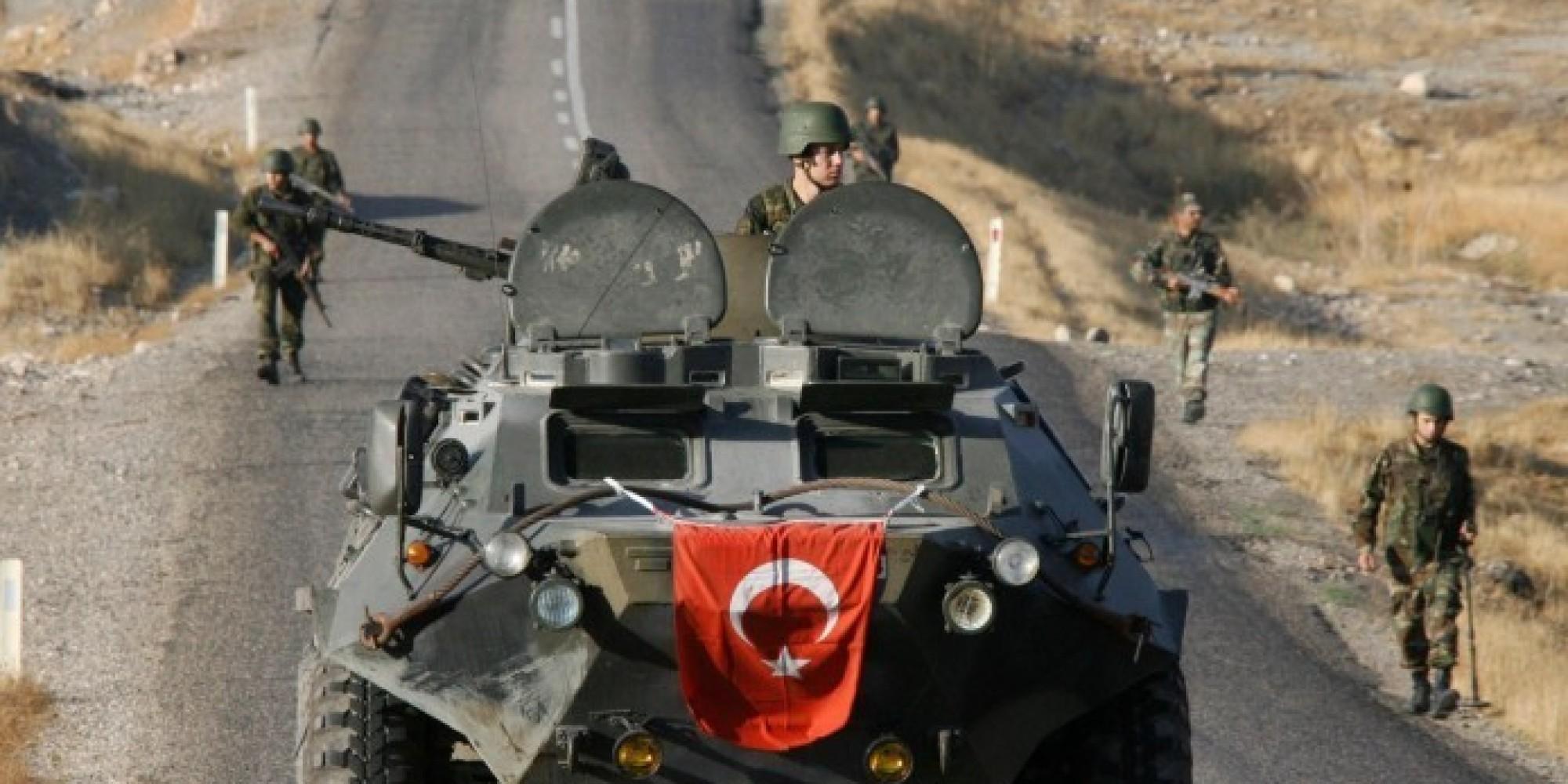 صورة إصابة جندي تركي بقصف مدفعي للنظام غربي حلب