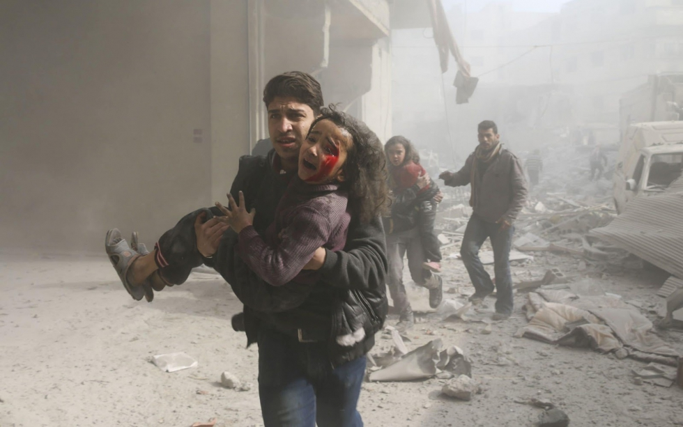 صورة الأمم المتحدة تحذر من جرائم حرب بغوطة دمشق
