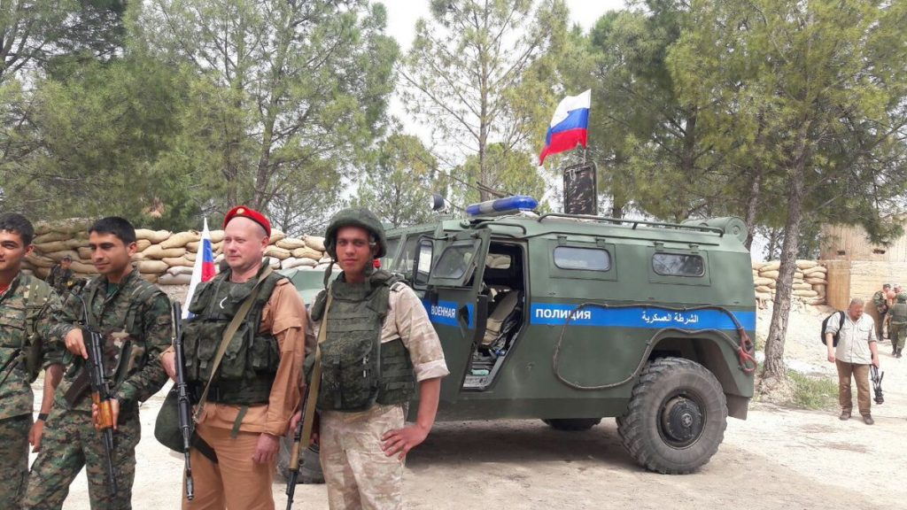 صورة روسيا تنفي خيانتها للأكراد في عفرين