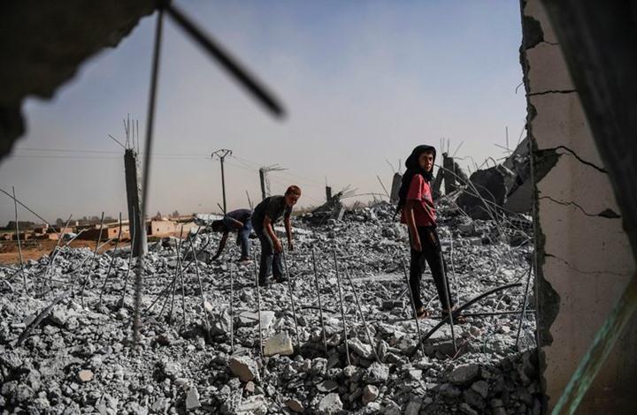 صورة منظمة تطالب بتوسيع نطاق عمليات نزع الألغام بالرقة