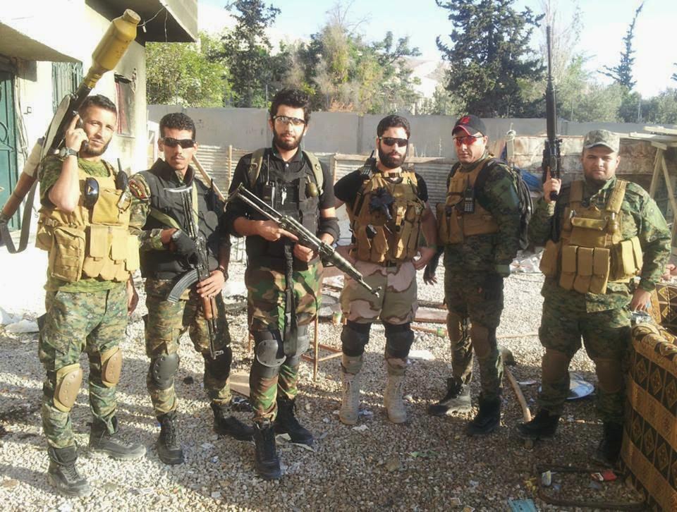صورة اقتتال بين ميليشيا شيعية والحرس الجمهوري