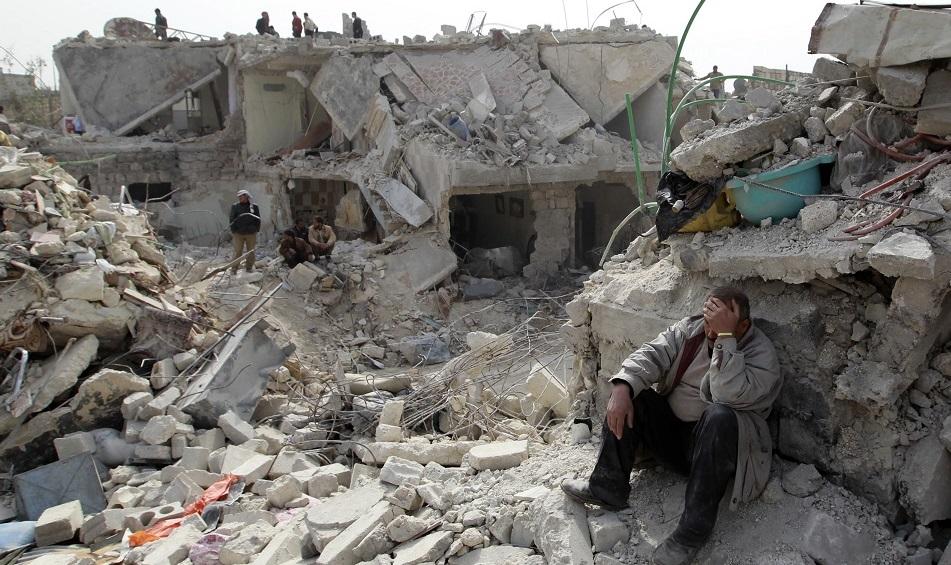 صورة قطر: تصعيد النظام السوري في إدلب يقوض الحل السياسي