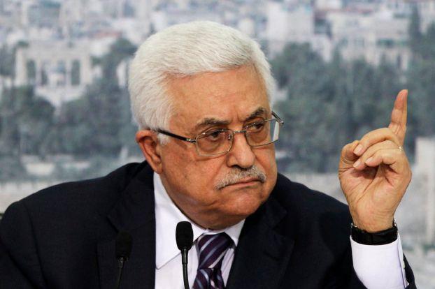 صورة عباس: إسرائيل «أنهت» اتفاقات أوسلو للسلام