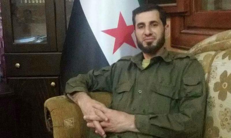 صورة اغتيال قيادي بارز في الجيش الحر بريف إدلب