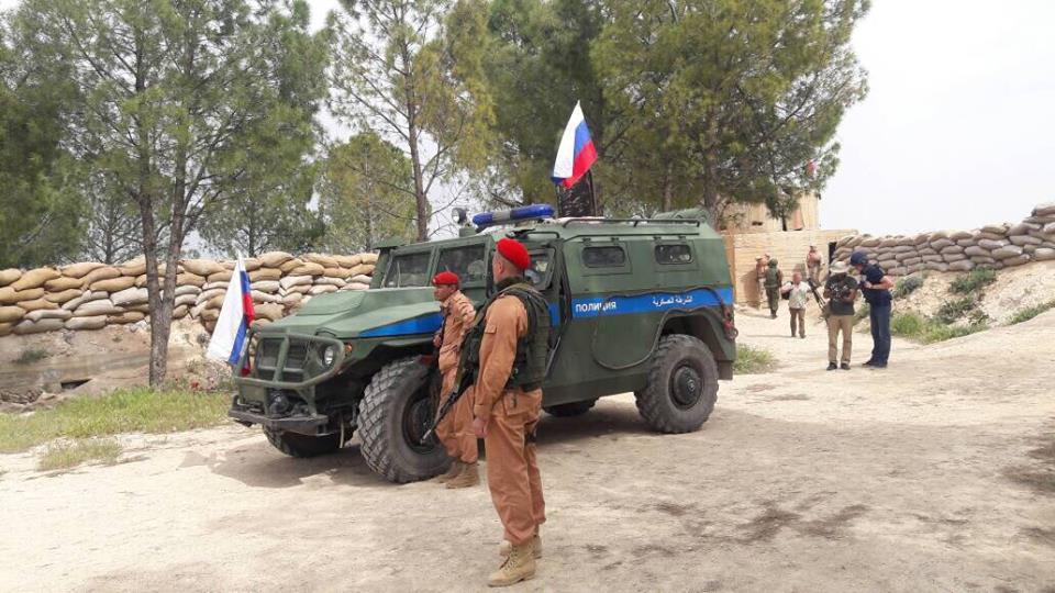 """صورة القوات الروسية لم تغادر """"عفرين"""""""