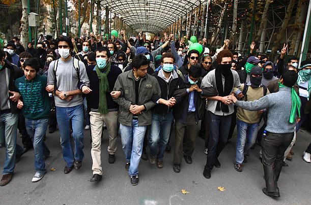 """صورة تصاعد الاحتجاجات ضد نظام """"الولي الفقيه"""""""