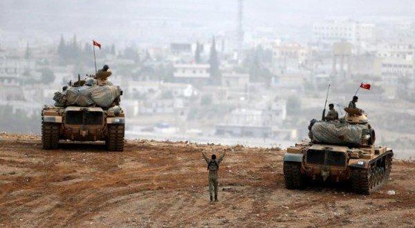 صورة التحرك العسكري التركي في عفرين وانتهاء حجج أمريكا