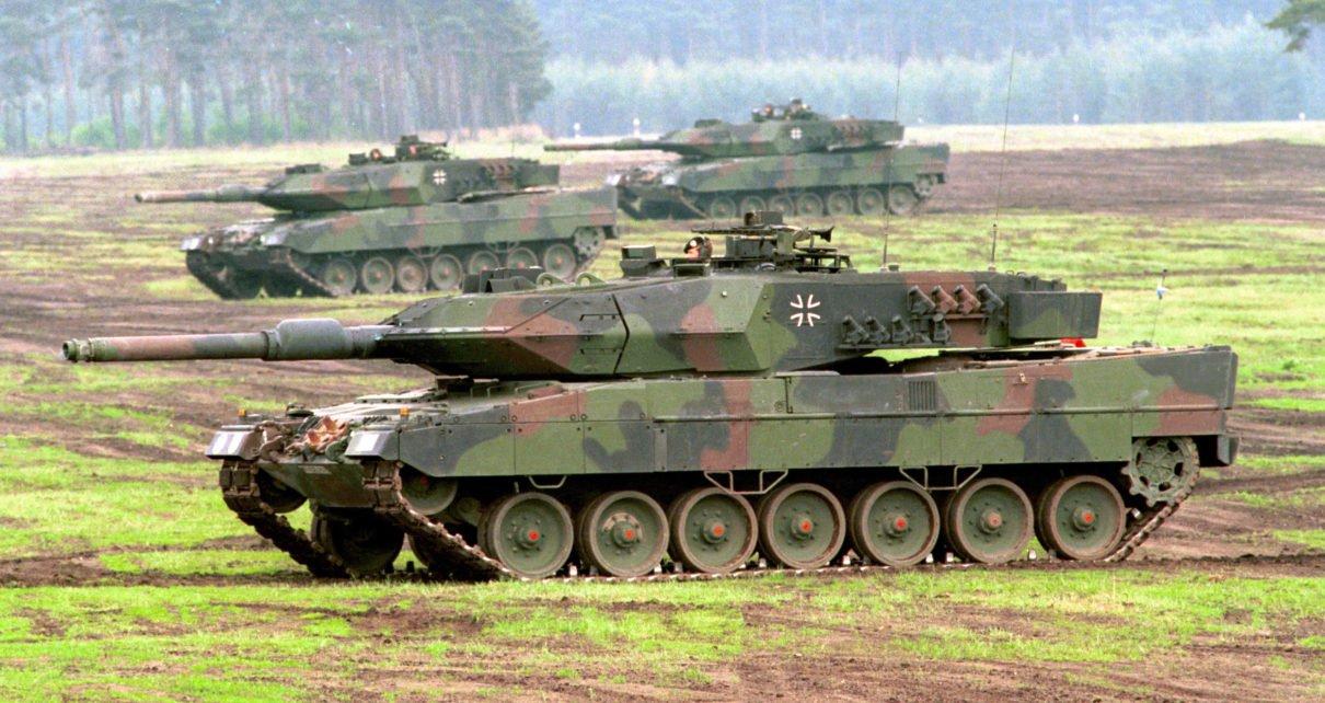 صورة عفرين..ألمانيا تؤجل تحديث دباباتها المقدمة للجيش التركي