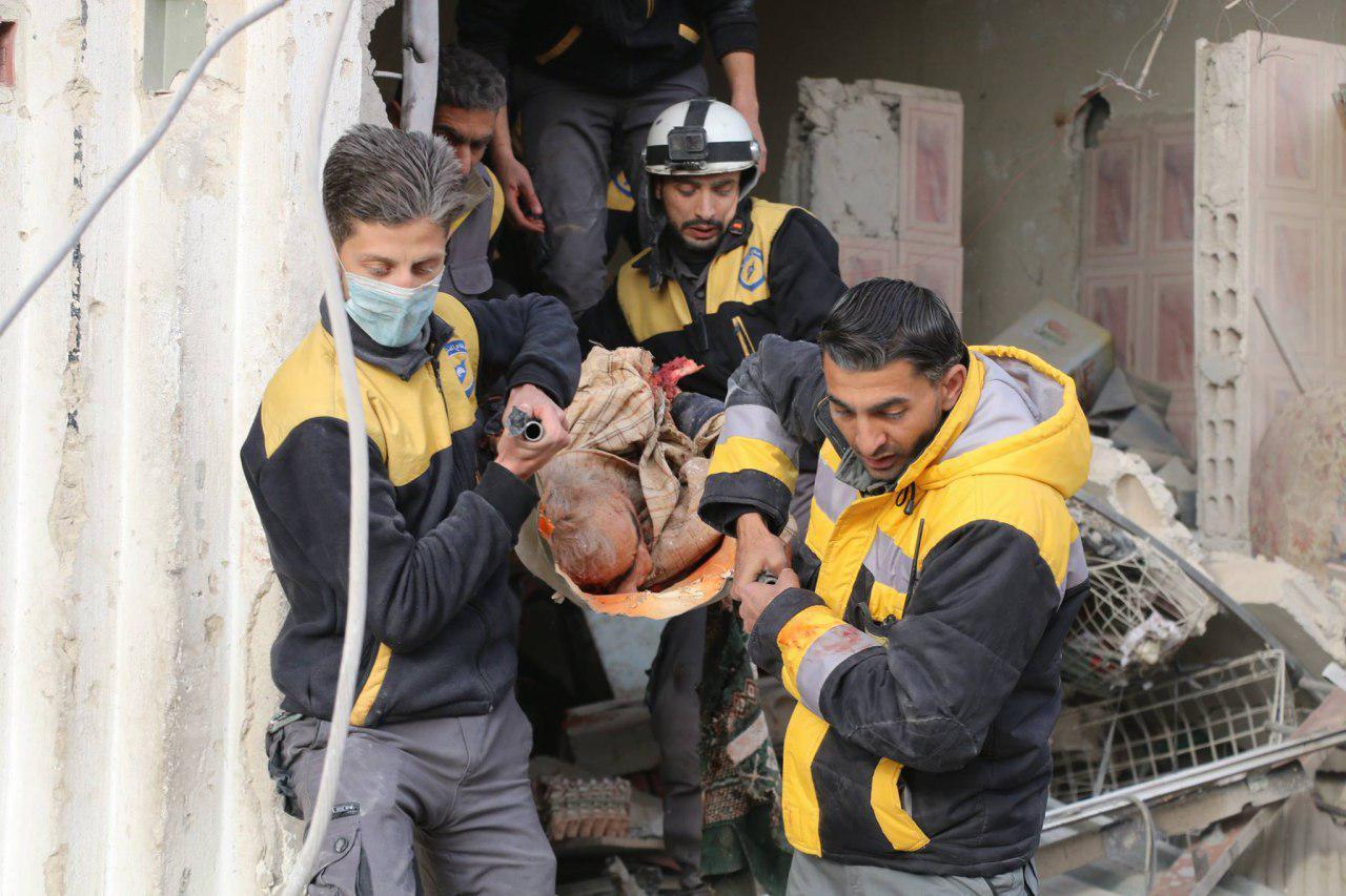 صورة طائرات روسية تقتل 11 مدنيا بغوطة دمشق