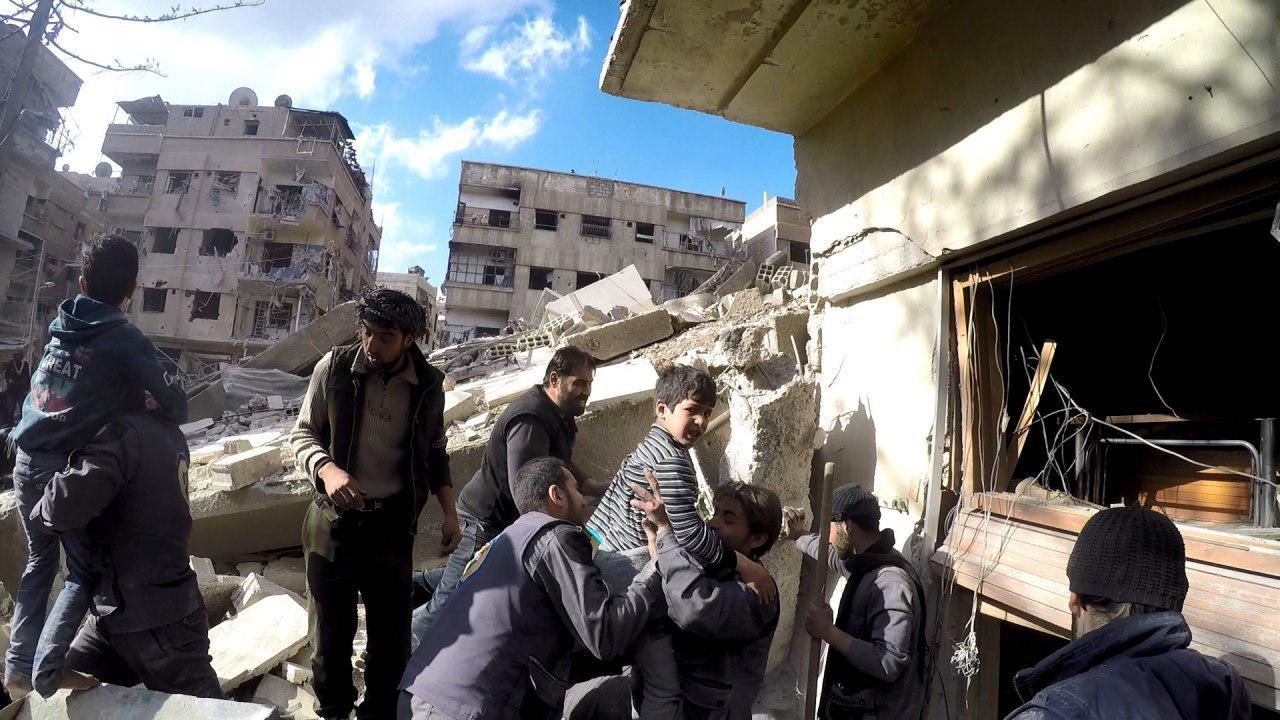 صورة الائتلاف يطالب مجلس الأمن بالتحرك حيال الغوطة وإدلب