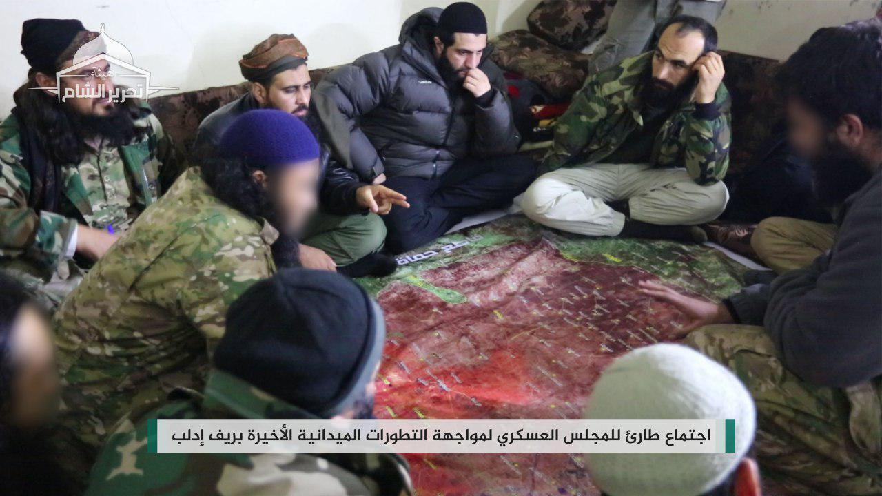 """صورة النظام يواصل تقدمه نحو إدلب..واجتماع طارئ لـ""""الجولاني"""""""
