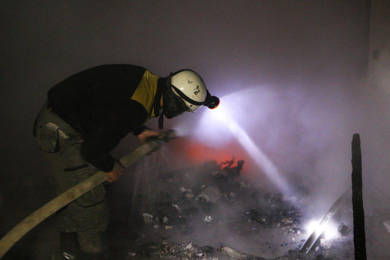 صورة القصف على الغوطة مستمر بعد محادثات وقف إطلاق النار