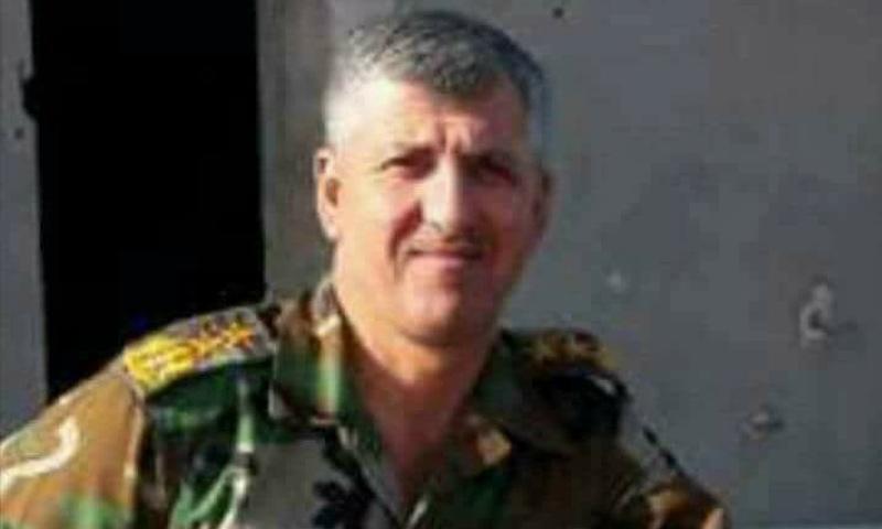 صورة مقتل قائد عمليات قوات الأسد بريف حماة