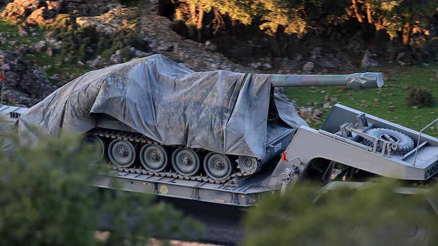 """صورة """"الحر"""" يتقدم بعفرين..وتركيا تعزز قواتها"""
