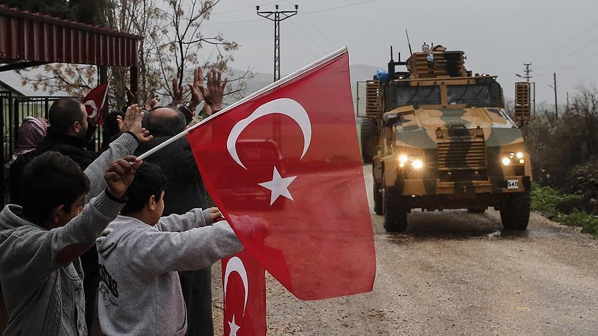 """صورة الحدود السورية..""""مناطق أمنية تركية خاصة"""" 15 يوما"""