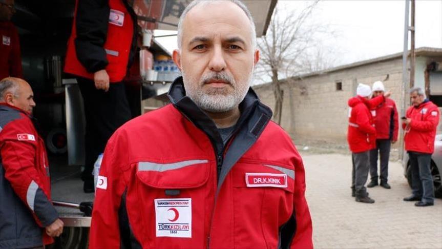 """صورة رئيس الهلال الأحمر التركي: النظّام السوري انتهك مناطق """"خفض التوتر"""" بإدلب"""