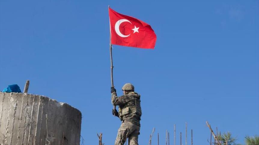 صورة الجيشان التركي والحر يسيطران على كامل جبل برصايا قرب عفرين