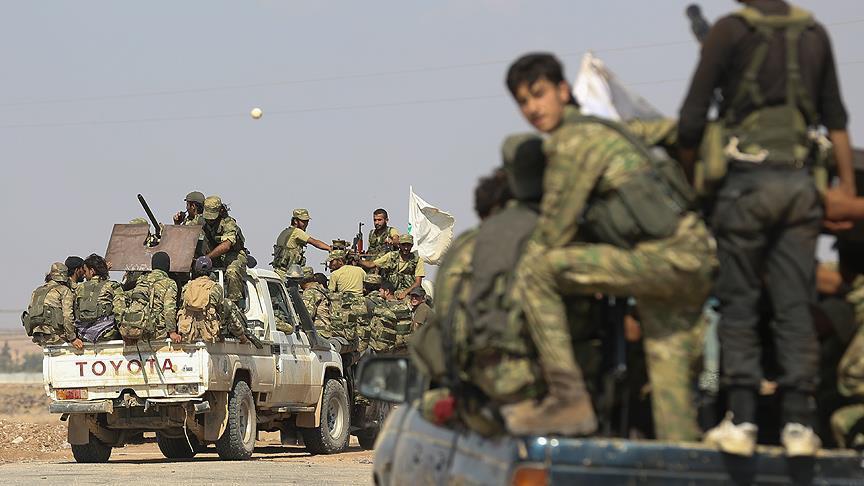 """صورة الجيش الوطني السوري يعلن المشاركة بـ""""غصن الزيتون"""""""