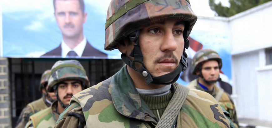 صورة الحرس الثوري: جيشا سوريا والعراق عمقنا الإستراتيجي