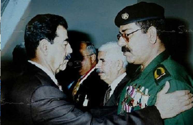 """صورة عشيرة """"صدام حسين"""" تعود للواجهة السياسية"""