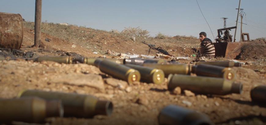 صورة توتر بين تحرير الشام وحركة الزنكي