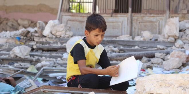 صورة إغلاق 1276 مدرسة في إدلب بسبب القصف الجوي